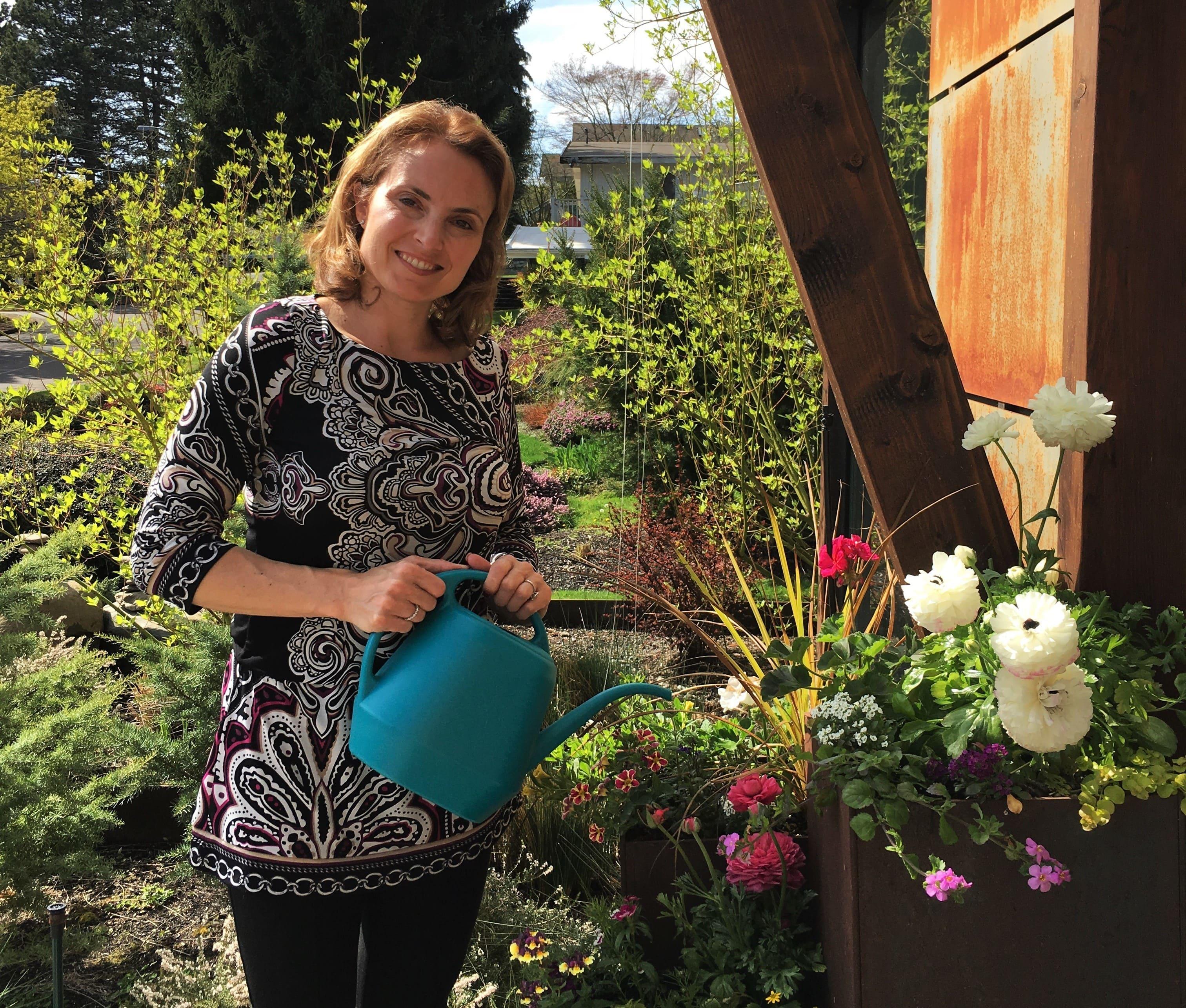 Sheri Gardening