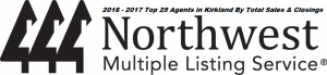 NWMLS Top 25 In Kirkland 2016 & 2017
